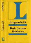 """Немецкий словарь """"Basic German Vocabulary"""""""