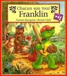 """Адаптированная книга для малышей """"Chacun son tour, Franklin / Всему свой черед, Франклин"""""""