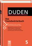 "Немецкий словарь ""Duden - Das Fremdworterbuch"""