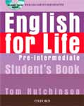 English for life: pre intermediate. Teachers book.  Hutchinson Tom