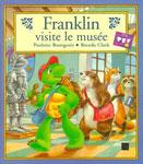 """Адаптированная книга на французском языке для малышей """"Franklin visite le musee /Франклин в музее"""""""