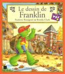 """Адаптированная книга на французском языке для малышей """"Le dessin de Flanklin / Франклин рисует"""""""