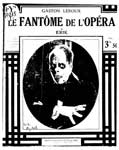 """Книга на французском языке """"Le Fantome de l`Opera/Призрак Оперы"""" (Гастон Леру)"""