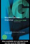 """Учебное пособие по немецкому языку """"Modern German Grammar"""""""