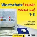 """Программа для изучения немецкого языка """"Moment mal wortschatz trainer 1-3"""""""