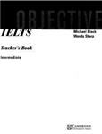 Objective IELTS. Intermediate. Teacher`s book. Michael Black, Wendy Sharp