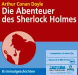 Шерлок Холмс. Аудиокнига на немецком языке. Артур Конан Дойль