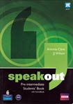 Speakout: pre-intermediate. Student`s book. Frances Eales, Antonia Clare