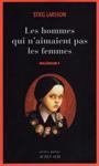 "Книга на французском языке ""Les homes qui naimaient pas les femmes / Девушка с татуировкой дракона"""