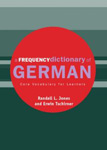 """Словарь немецкого языка """"Frequency Dictionary of German"""""""